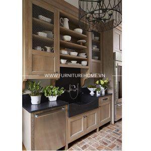 Tủ Bếp Gỗ Tự Nhiên (1)