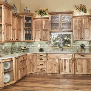 Tủ Bếp Gỗ Tự Nhiên (10)