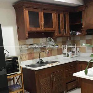 Tủ Bếp Gỗ Tự Nhiên (15)